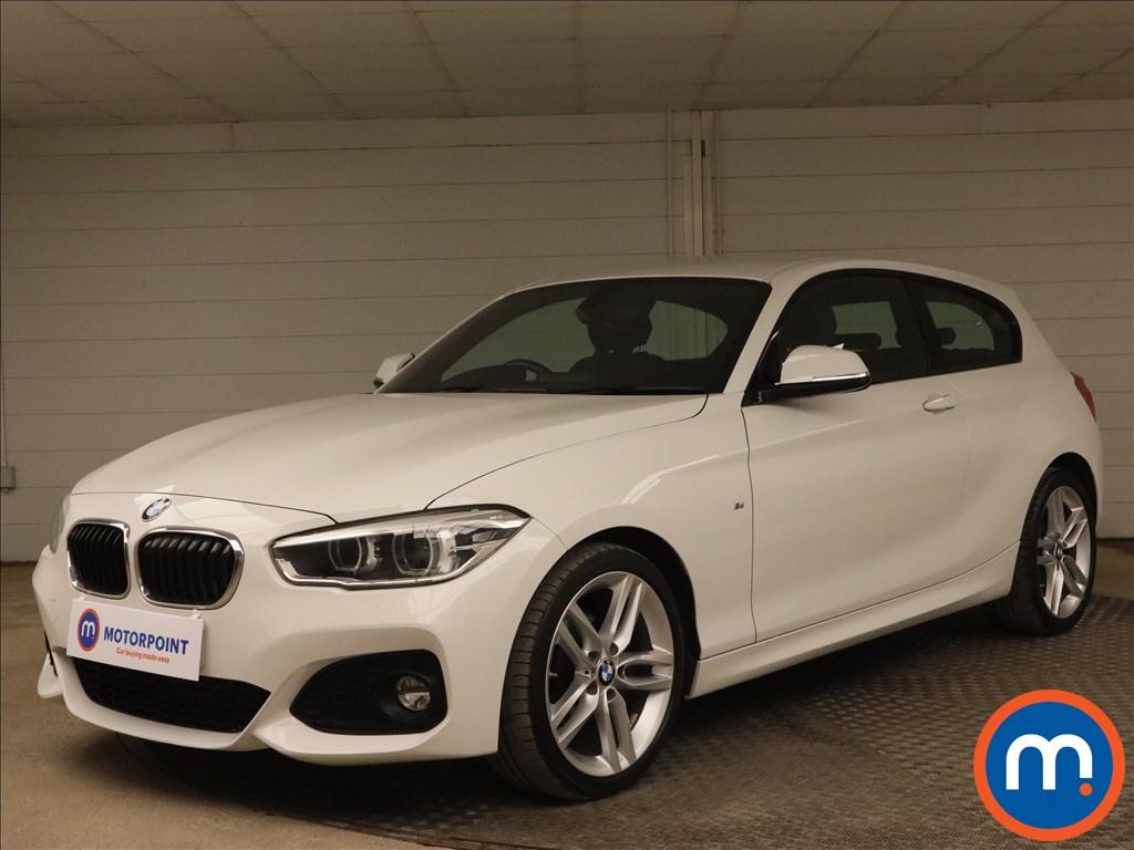 BMW 1 Series 118d M Sport 3dr [Nav-Servotronic] - Stock Number 1183553 Passenger side front corner