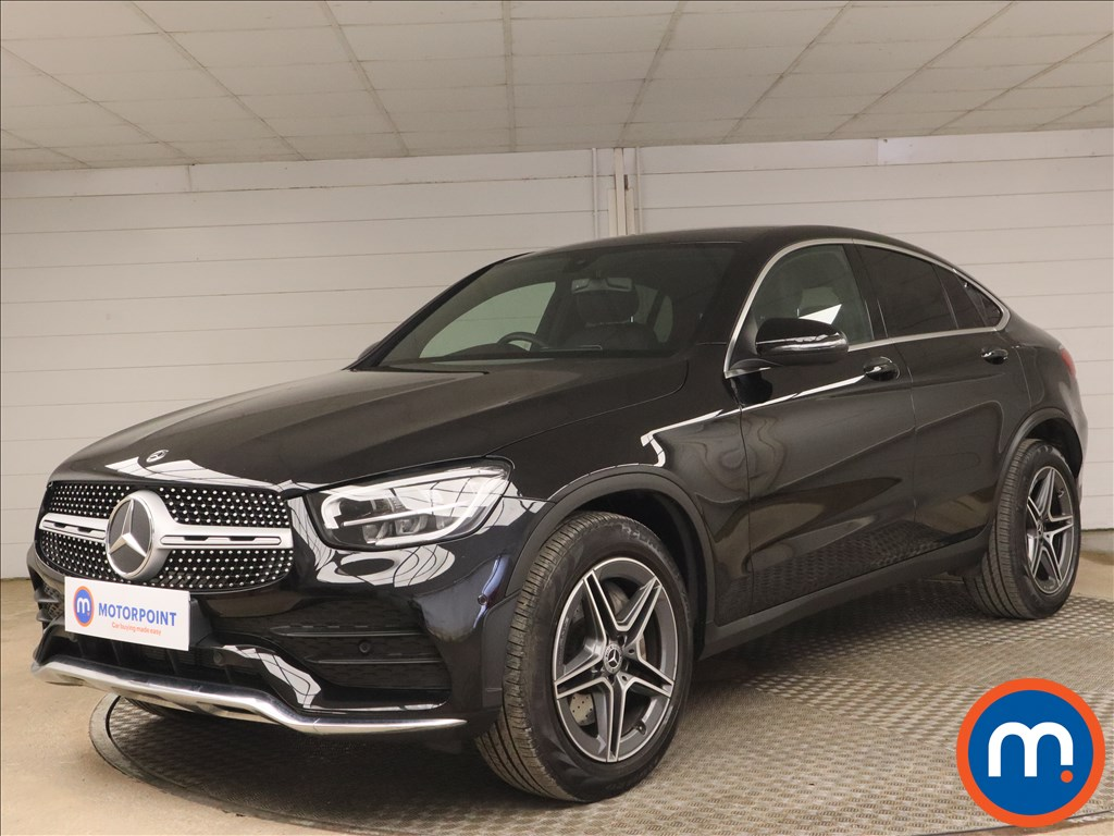 Mercedes-Benz Glc Coupe GLC 300 4Matic AMG Line 5dr 9G-Tronic - Stock Number 1186771 Passenger side front corner