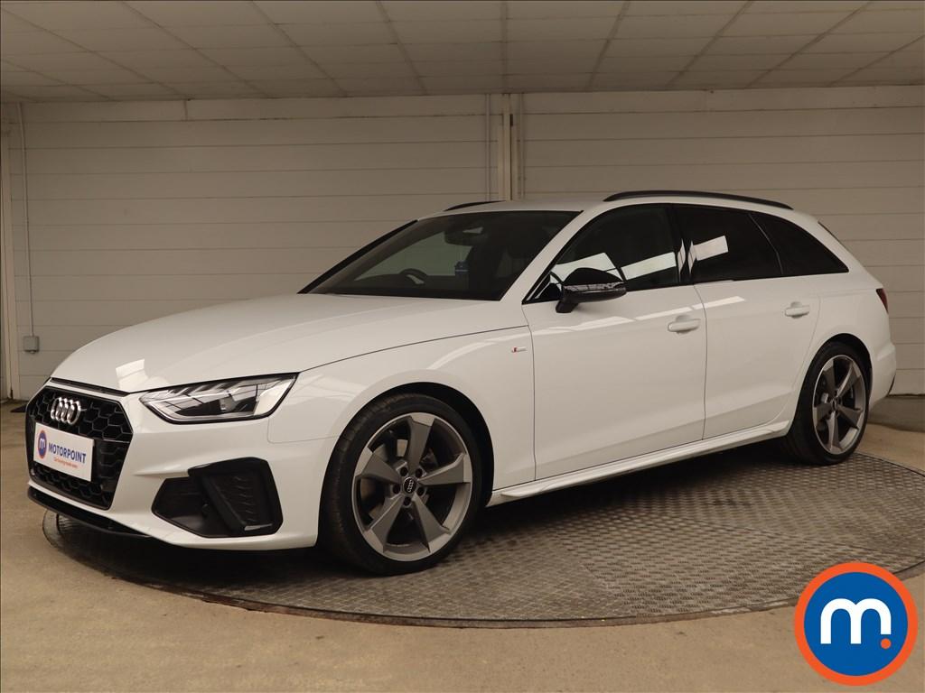 Audi A4 35 TDI Black Edition 5dr S Tronic - Stock Number 1188080 Passenger side front corner
