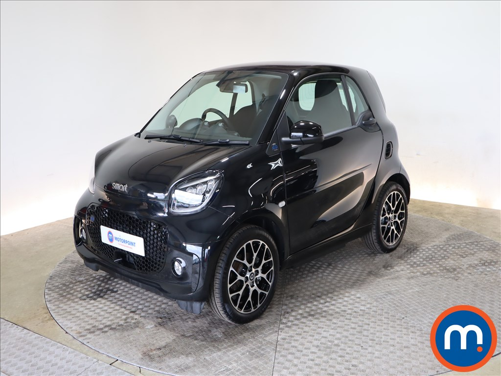 Smart Fortwo Coupe 60kW EQ Prime Exclusive 17kWh 2dr Auto [22kWCh] - Stock Number 1184075 Passenger side front corner