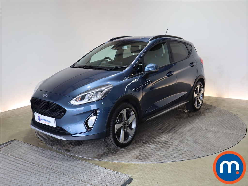 Ford Fiesta 1.0 EcoBoost 95 Active Edition 5dr - Stock Number 1176723 Passenger side front corner