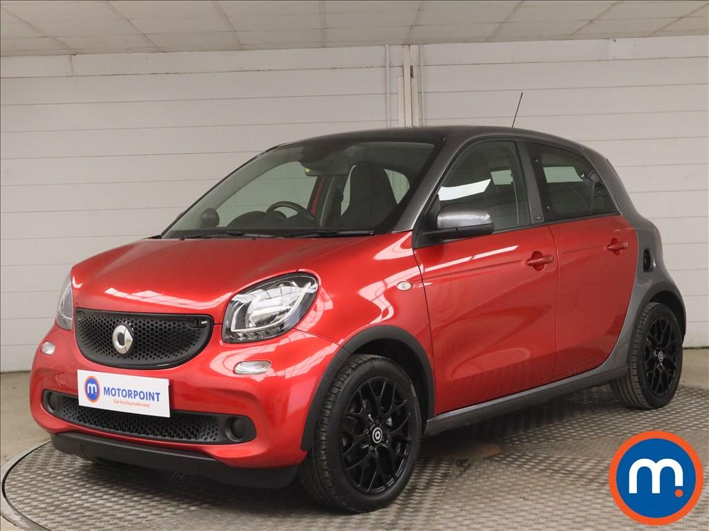 Smart Forfour 0.9 Turbo Prime Sport Premium 5dr Auto - Stock Number 1187869 Passenger side front corner