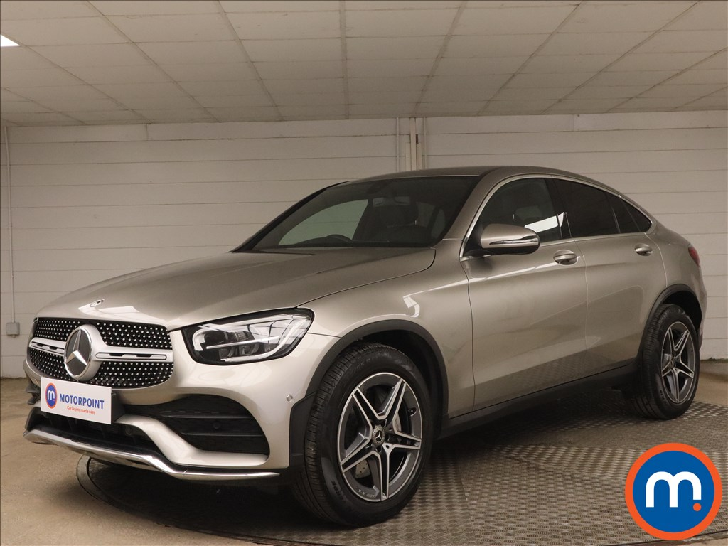 Mercedes-Benz Glc Coupe GLC 300 4Matic AMG Line 5dr 9G-Tronic - Stock Number 1187564 Passenger side front corner