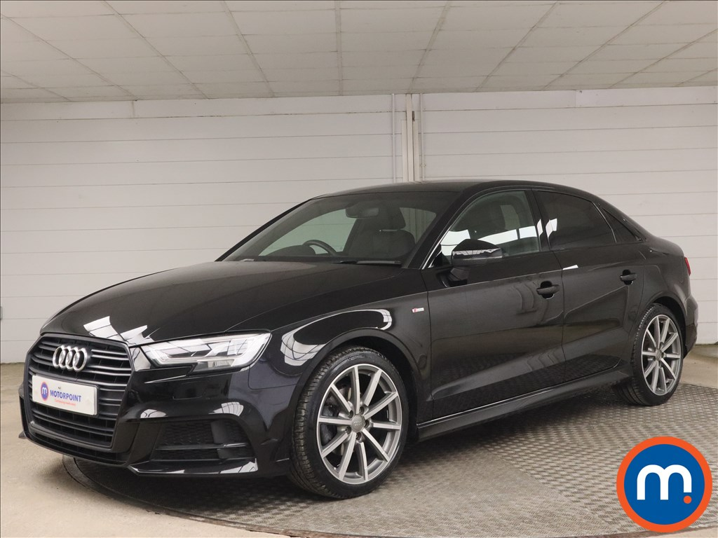Audi A3 1.5 TFSI Black Edition 4dr - Stock Number 1186651 Passenger side front corner