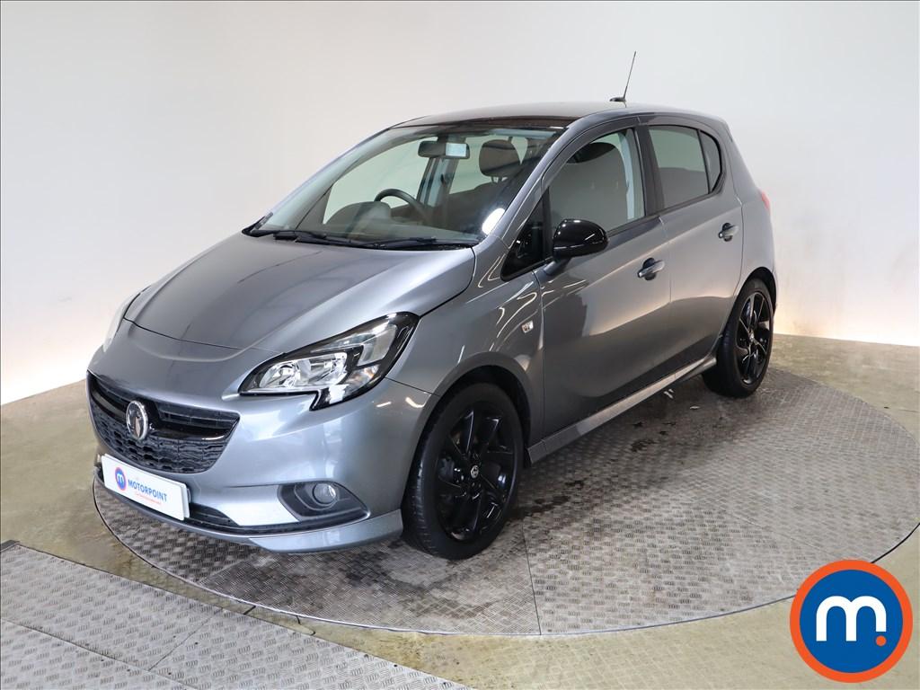 Vauxhall Corsa 1.4 SRi Vx-line Nav Black 5dr - Stock Number 1181562 Passenger side front corner