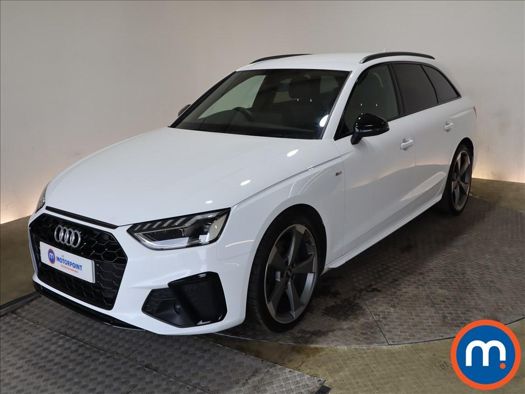Audi A4 35 TDI Black Edition 5dr S Tronic - Stock Number 1188094 Passenger side front corner