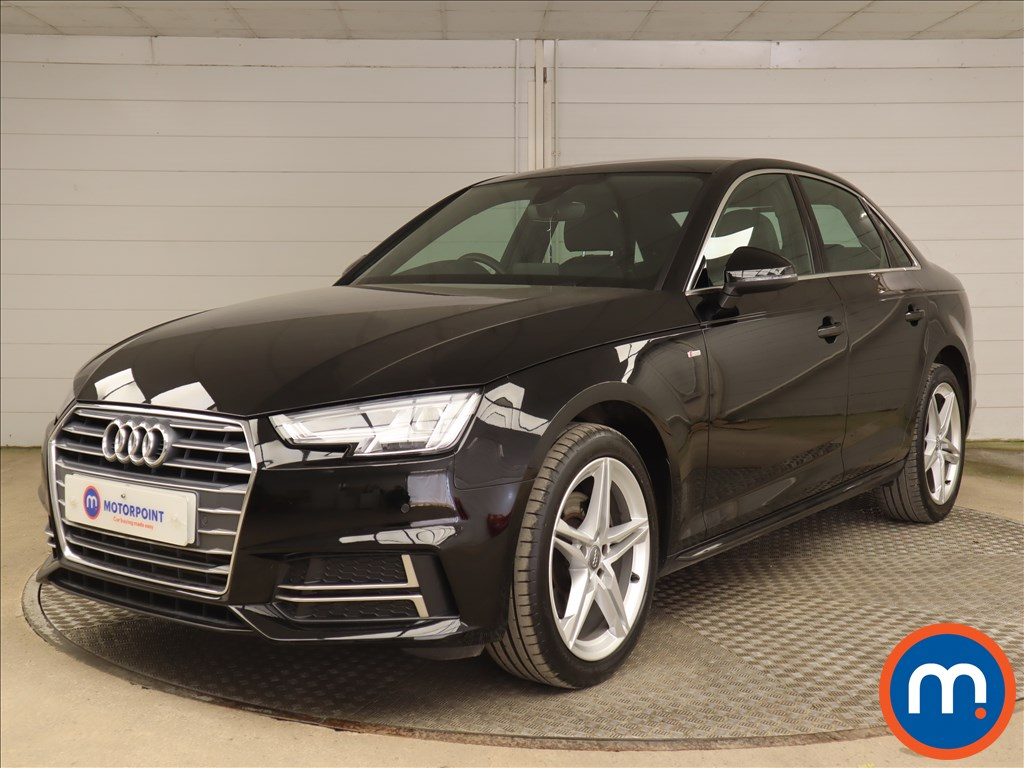 Audi A4 2.0T FSI S Line 4dr S Tronic [Leather-Alc] - Stock Number 1190035 Passenger side front corner