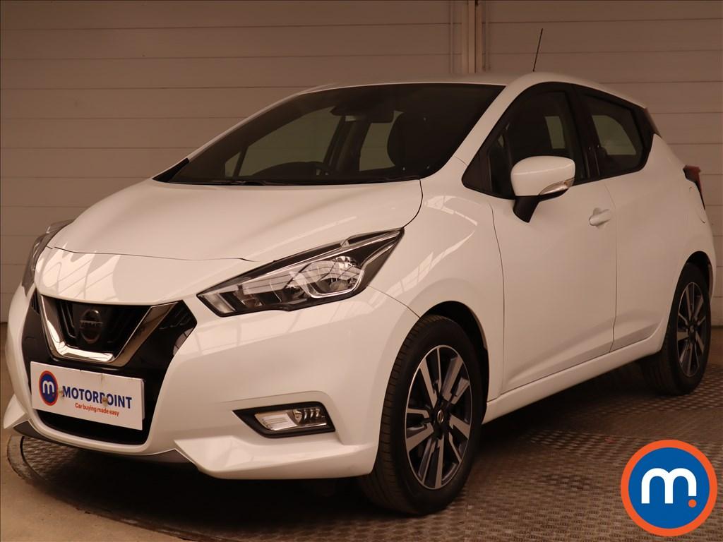 Nissan Micra 0.9 IG-T Acenta 5dr - Stock Number 1188894 Passenger side front corner