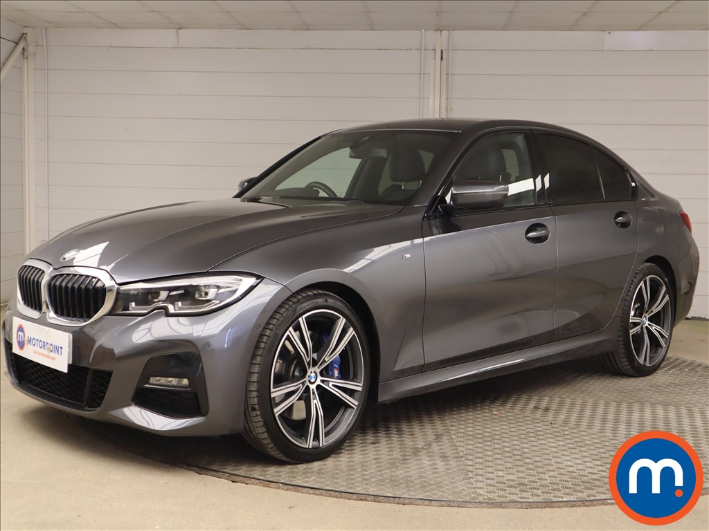 BMW 3 Series 330i M Sport 4dr Step Auto - Stock Number 1186788 Passenger side front corner