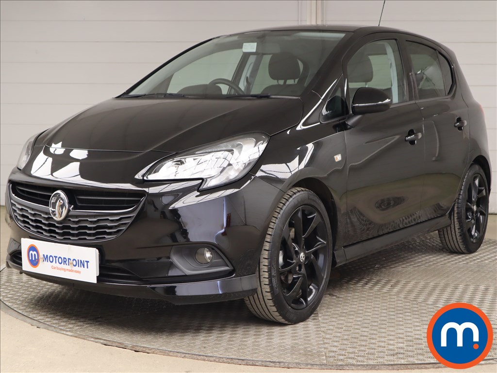 Vauxhall Corsa 1.4 SRi Vx-line Nav Black 5dr - Stock Number 1192169 Passenger side front corner