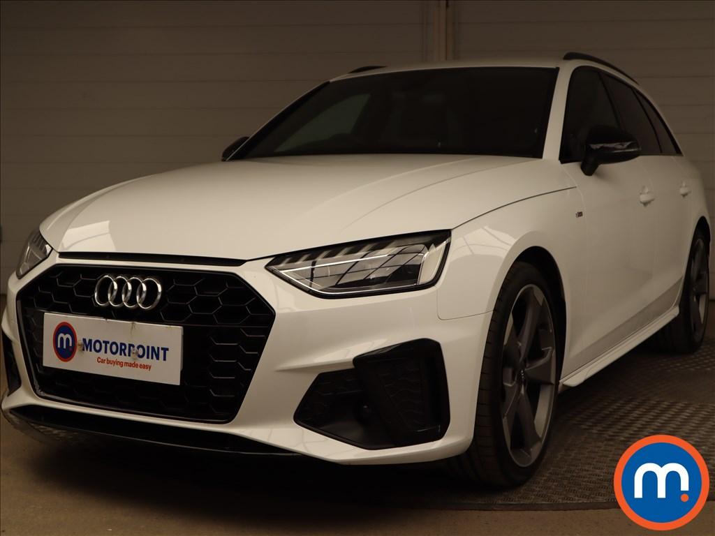 Audi A4 35 TDI Black Edition 5dr S Tronic - Stock Number 1188083 Passenger side front corner