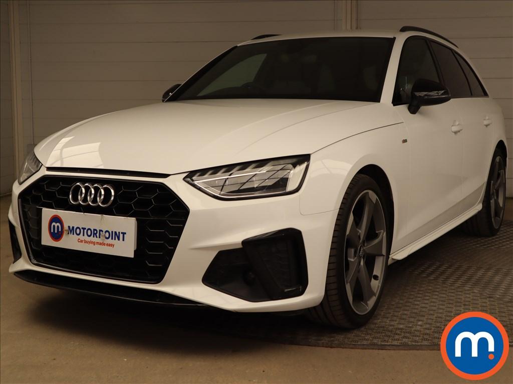 Audi A4 35 TDI Black Edition 5dr S Tronic - Stock Number 1188085 Passenger side front corner