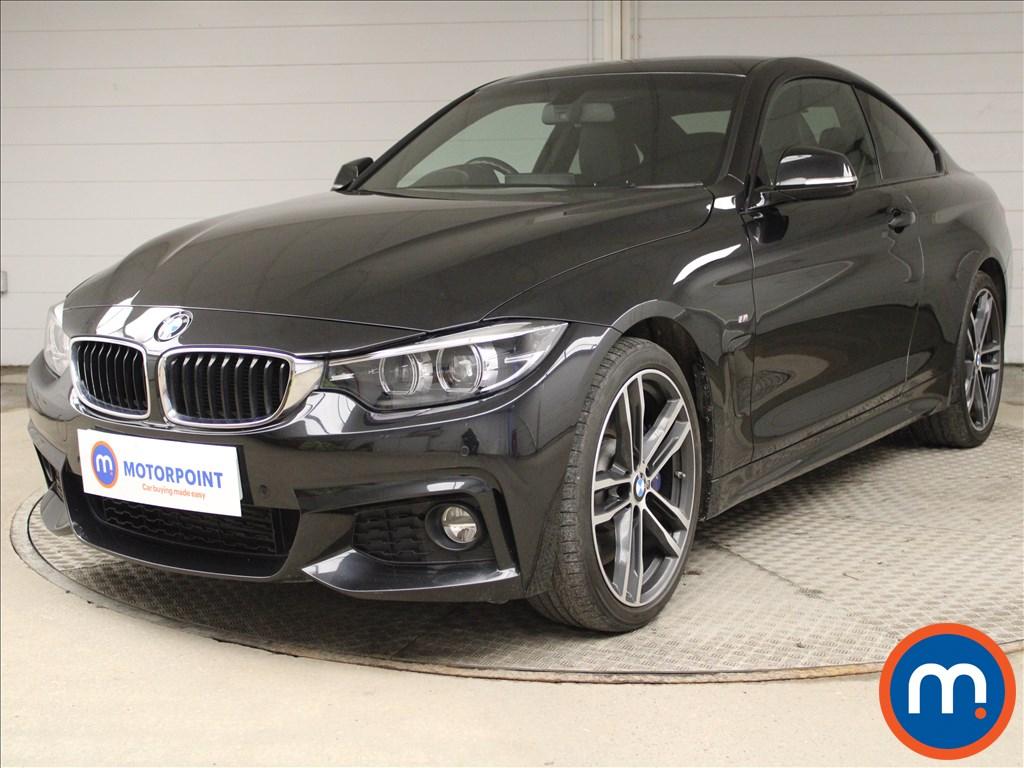 BMW 4 Series 430d M Sport 2dr Auto [Professional Media] - Stock Number 1193147 Passenger side front corner