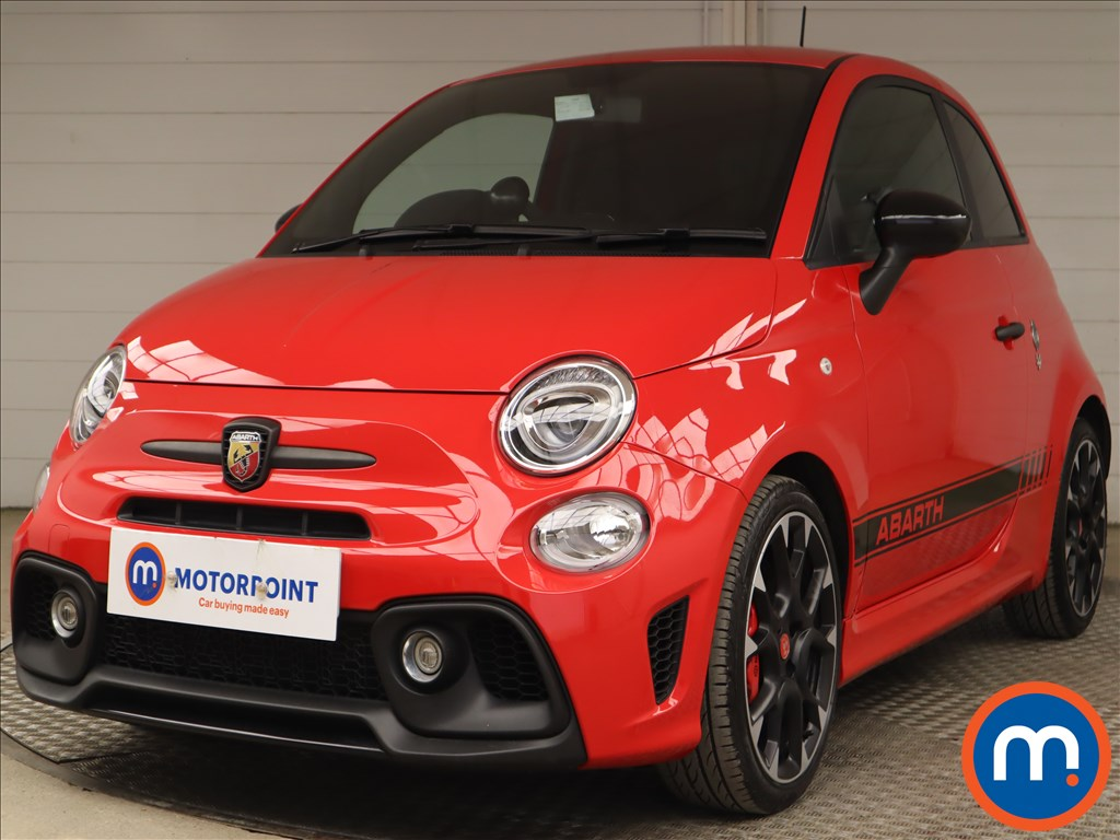 Abarth 595 1.4 T-Jet 180 Competizione 3dr - Stock Number 1193648 Passenger side front corner