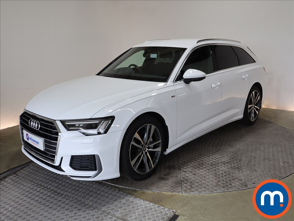 Audi A6 40 TDI S Line 5dr S Tronic [Tech Pack] - Stock Number 1191918 Passenger side front corner