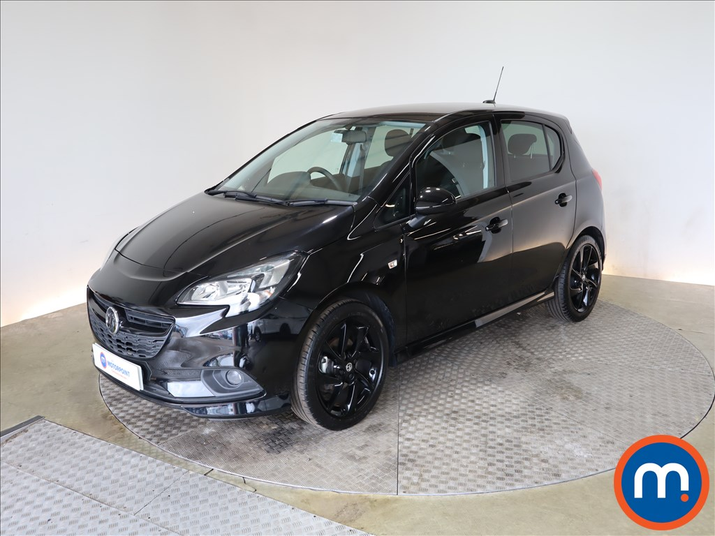 Vauxhall Corsa 1.4 SRi Vx-line Nav Black 5dr - Stock Number 1188616 Passenger side front corner