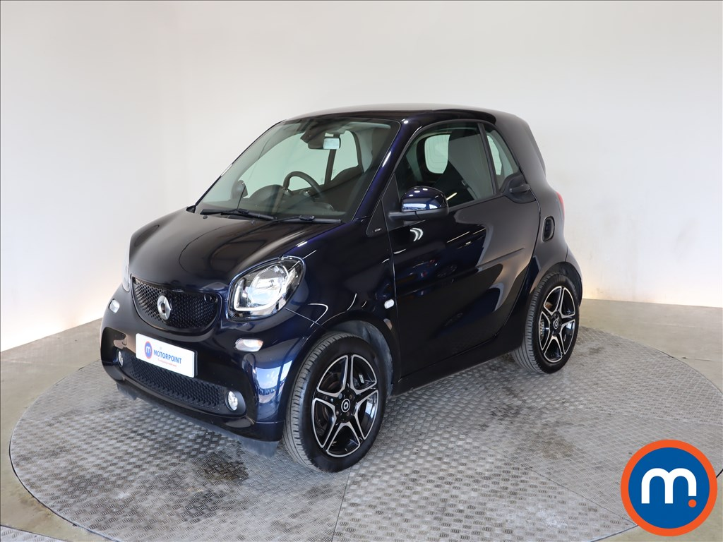 Smart Fortwo Coupe 0.9 Turbo Edition Blue 2dr Auto - Stock Number 1197876 Passenger side front corner