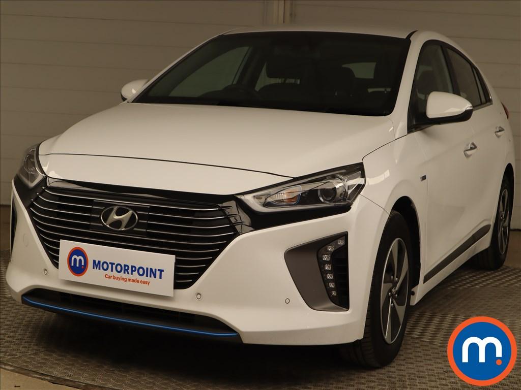 Hyundai Ioniq 1.6 GDi Hybrid Premium SE 5dr DCT - Stock Number 1195495 Passenger side front corner