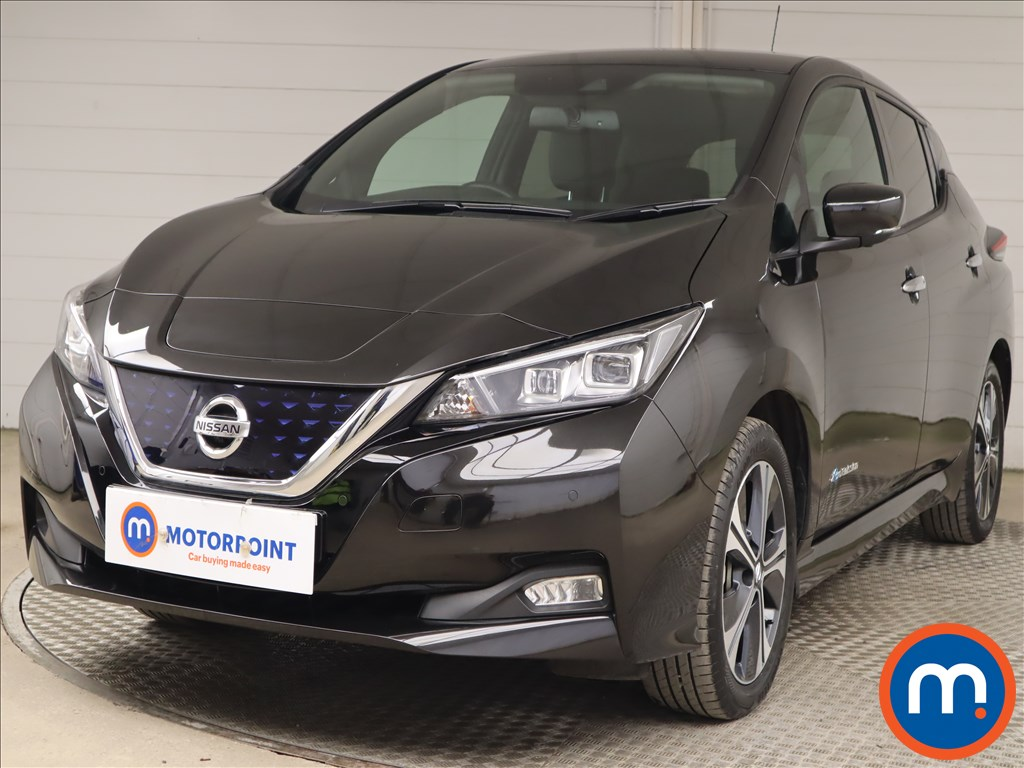 Nissan Leaf 110kW Tekna 40kWh 5dr Auto - Stock Number 1196867 Passenger side front corner