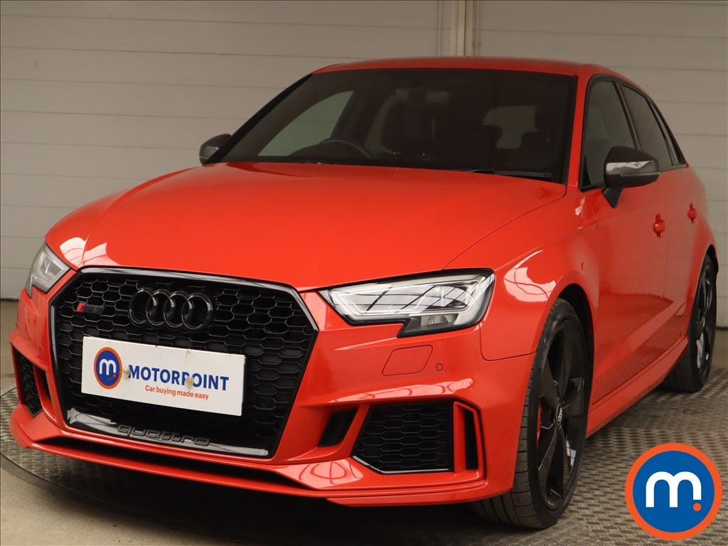 Audi RS3 2.5 TFSI RS 3 Quattro 5dr S Tronic - Stock Number 1198490 Passenger side front corner