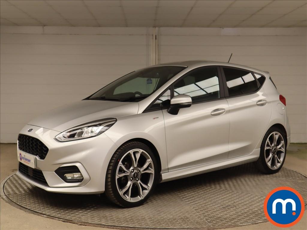 Ford Fiesta 1.0 EcoBoost 125 ST-Line X Edition 5dr - Stock Number 1195530 Passenger side front corner