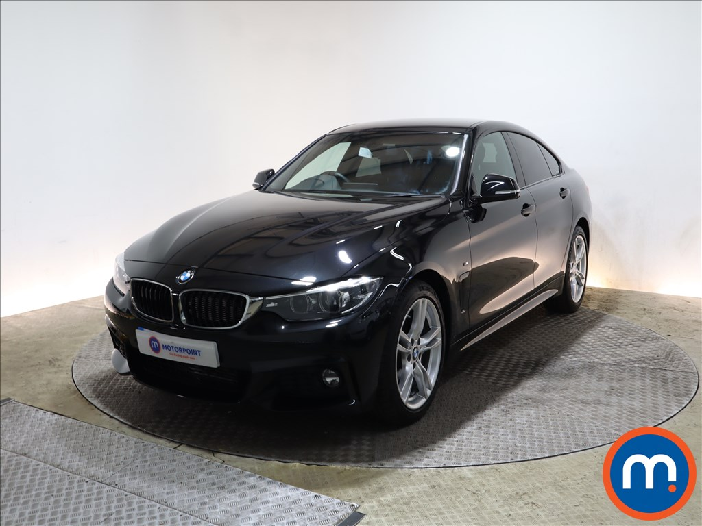BMW 4 Series 420d [190] M Sport 5dr Auto [Professional Media] - Stock Number 1201034 Passenger side front corner