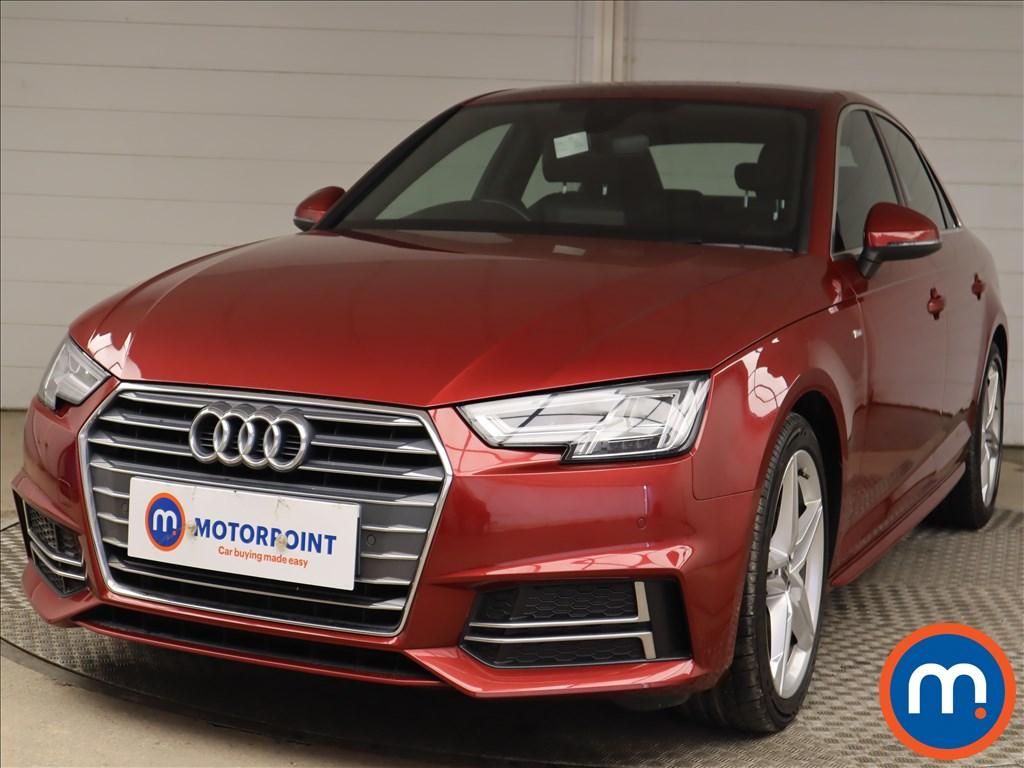 Audi A4 1.4T FSI S Line 4dr [Leather-Alc] - Stock Number 1199429 Passenger side front corner