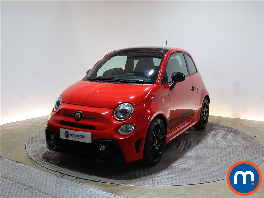 Abarth 595 1.4 T-Jet 180 Competizione 3dr - Stock Number 1202477 Passenger side front corner