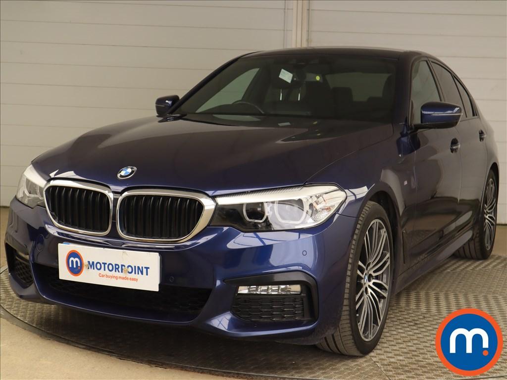 BMW 5 Series 530d M Sport 4dr Auto - Stock Number 1201462 Passenger side front corner
