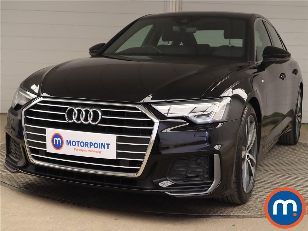 Audi A6 40 TDI S Line 4dr S Tronic - Stock Number 1201739 Passenger side front corner