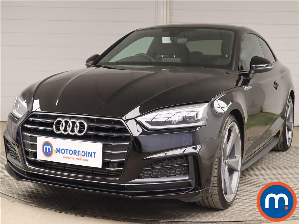 Audi A5 40 TFSI Black Edition 2dr S Tronic - Stock Number 1201733 Passenger side front corner