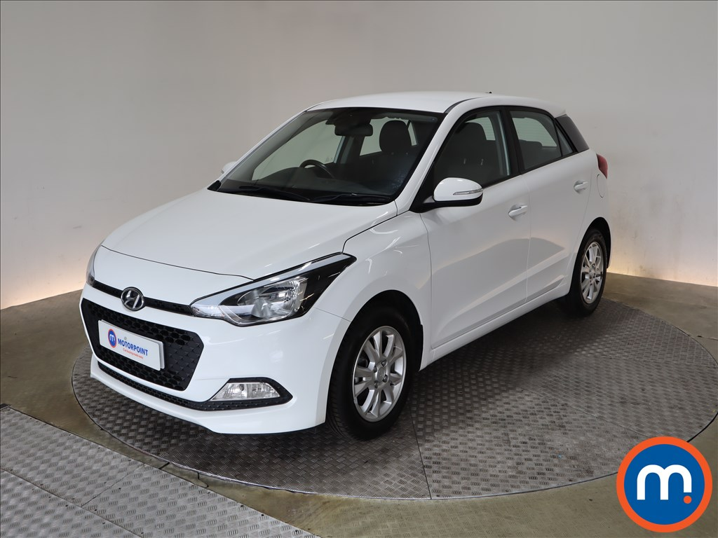 Hyundai I20 1.2 SE 5dr - Stock Number 1190084 Passenger side front corner