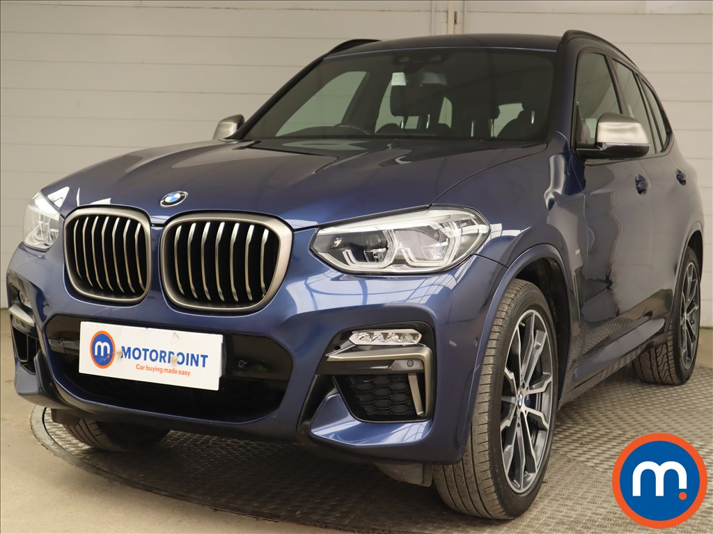 BMW X3 xDrive M40i 5dr Step Auto - Stock Number 1203606 Passenger side front corner