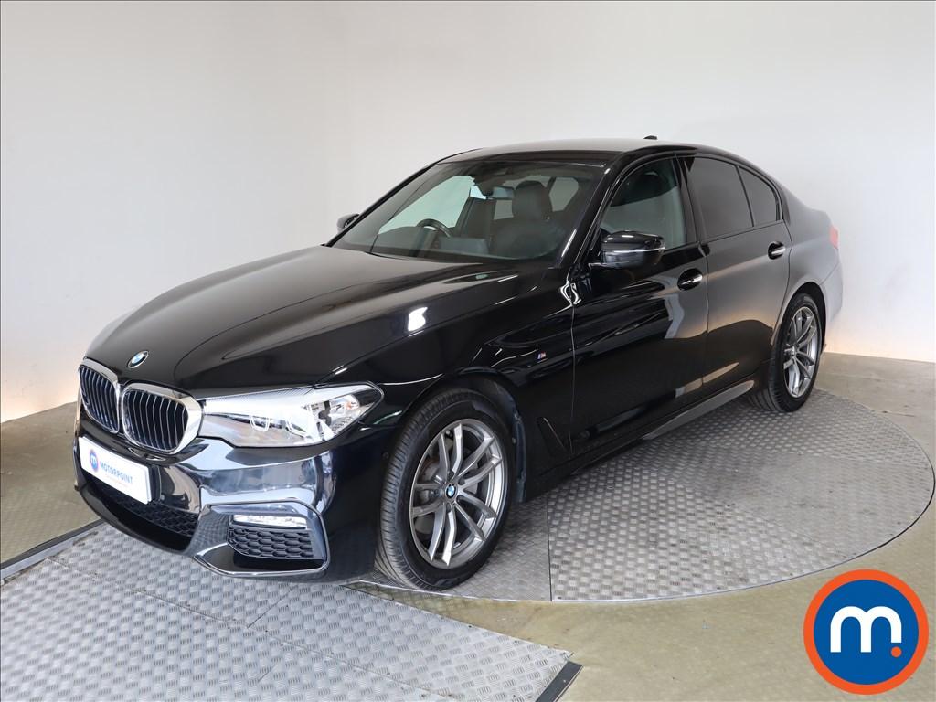 BMW 5 Series 520d M Sport 4dr Auto - Stock Number 1200464 Passenger side front corner