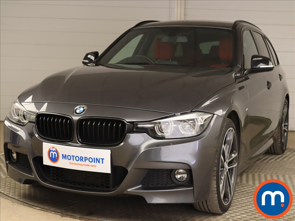 BMW 3 Series 320d M Sport Shadow Edition 5dr Step Auto - Stock Number 1205184 Passenger side front corner