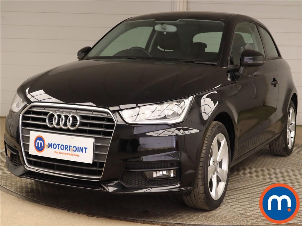 Audi A1 1.0 TFSI Sport Nav 3dr - Stock Number 1200978 Passenger side front corner