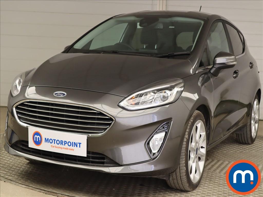Ford Fiesta 1.0 EcoBoost Hybrid mHEV 155 Titanium X 5dr - Stock Number 1201306 Passenger side front corner