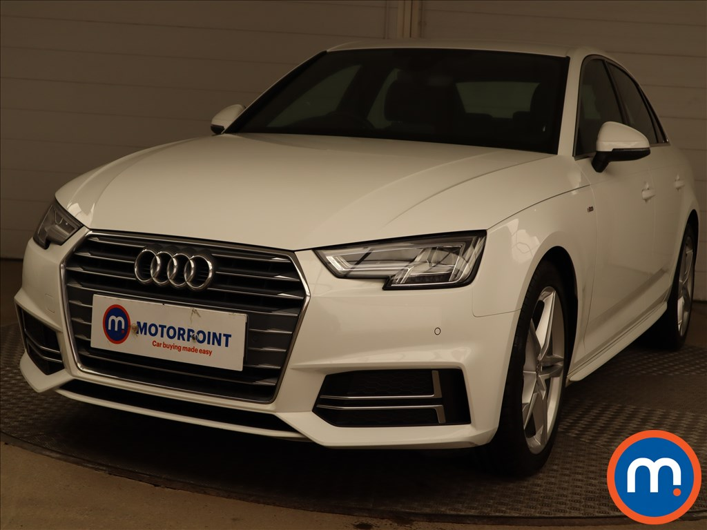 Audi A4 2.0 TDI S Line 4dr S Tronic [Leather-Alc] - Stock Number 1203355 Passenger side front corner