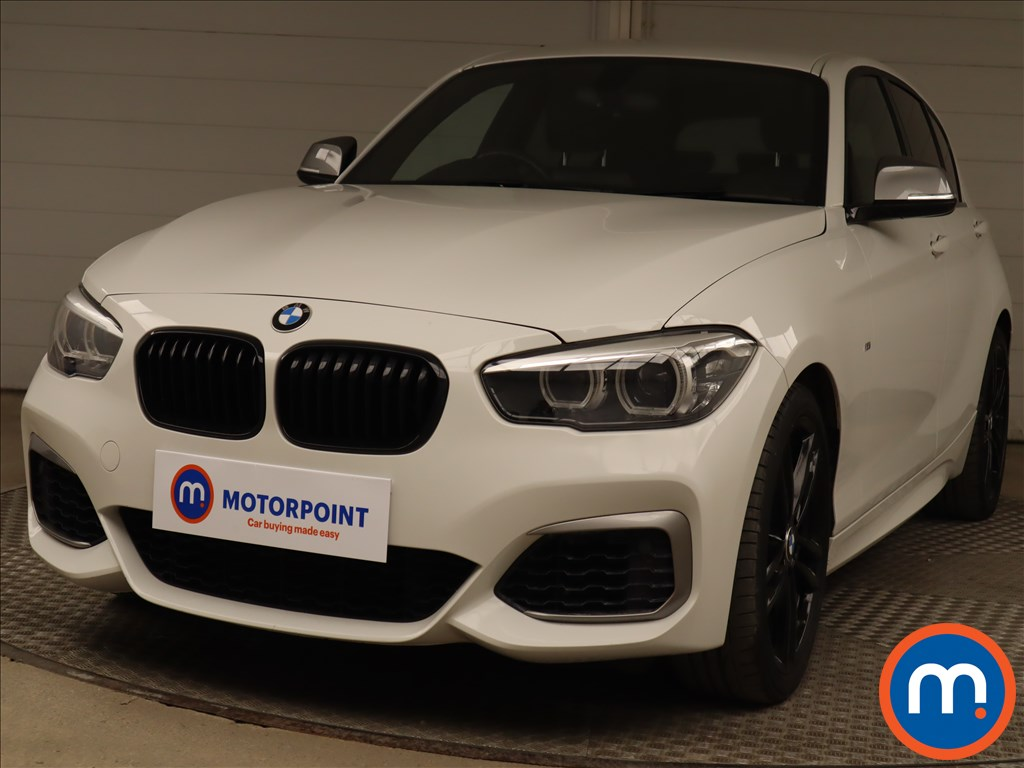 BMW 1 Series M140i Shadow Edition 5dr Step Auto - Stock Number 1211051 Passenger side front corner