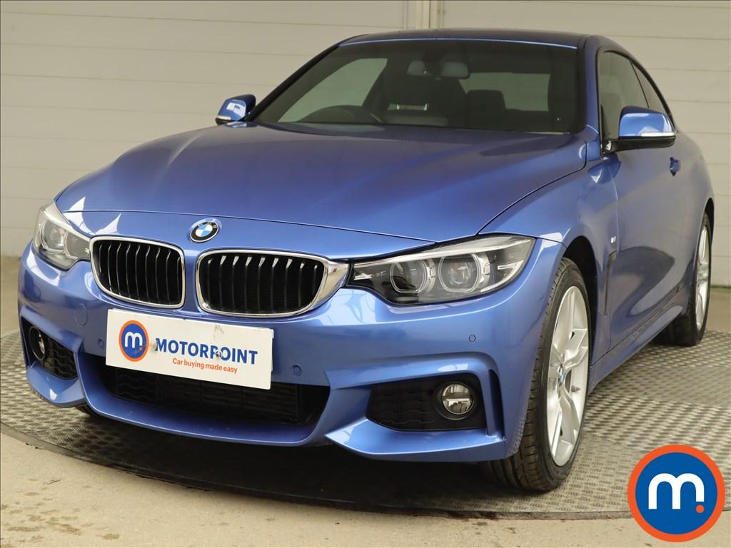 BMW 4 Series 430d xDrive M Sport 2dr Auto [Professional Media] - Stock Number 1208374 Passenger side front corner