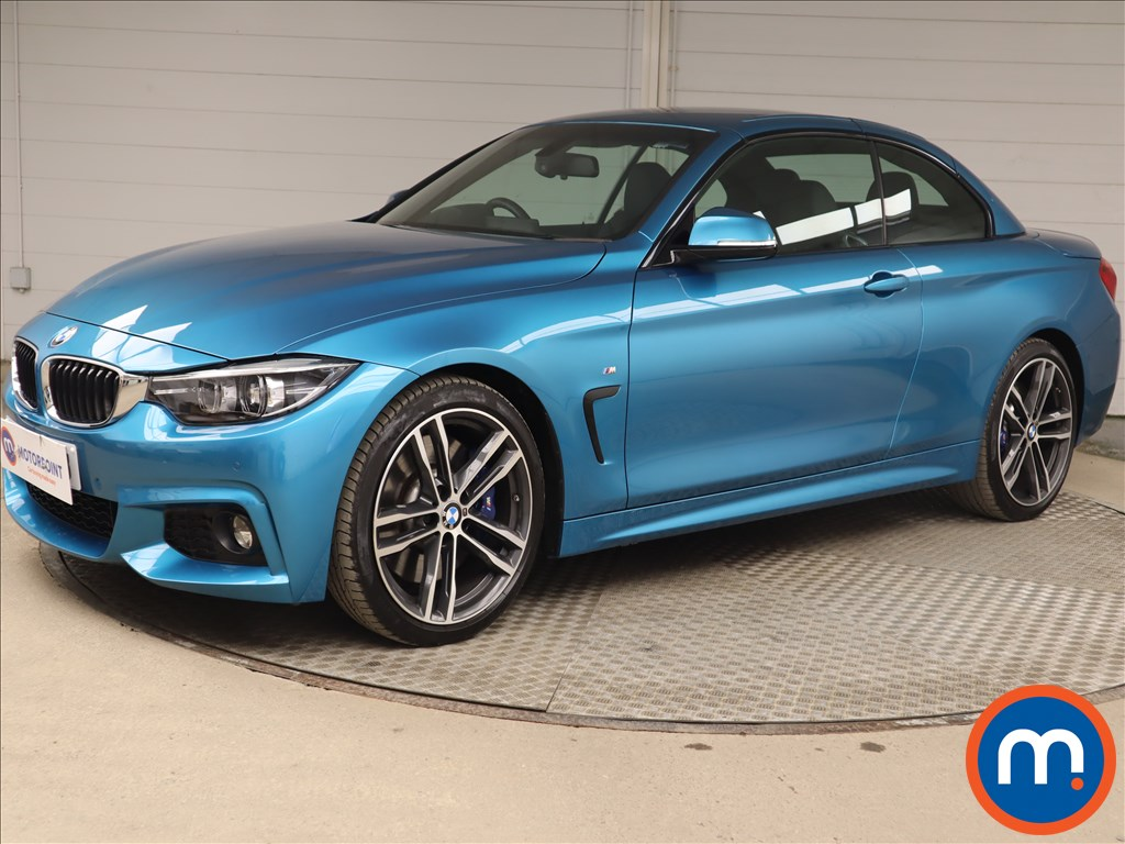 BMW 4 Series 430i M Sport 2dr Auto [Professional Media] - Stock Number 1213639 Passenger side front corner