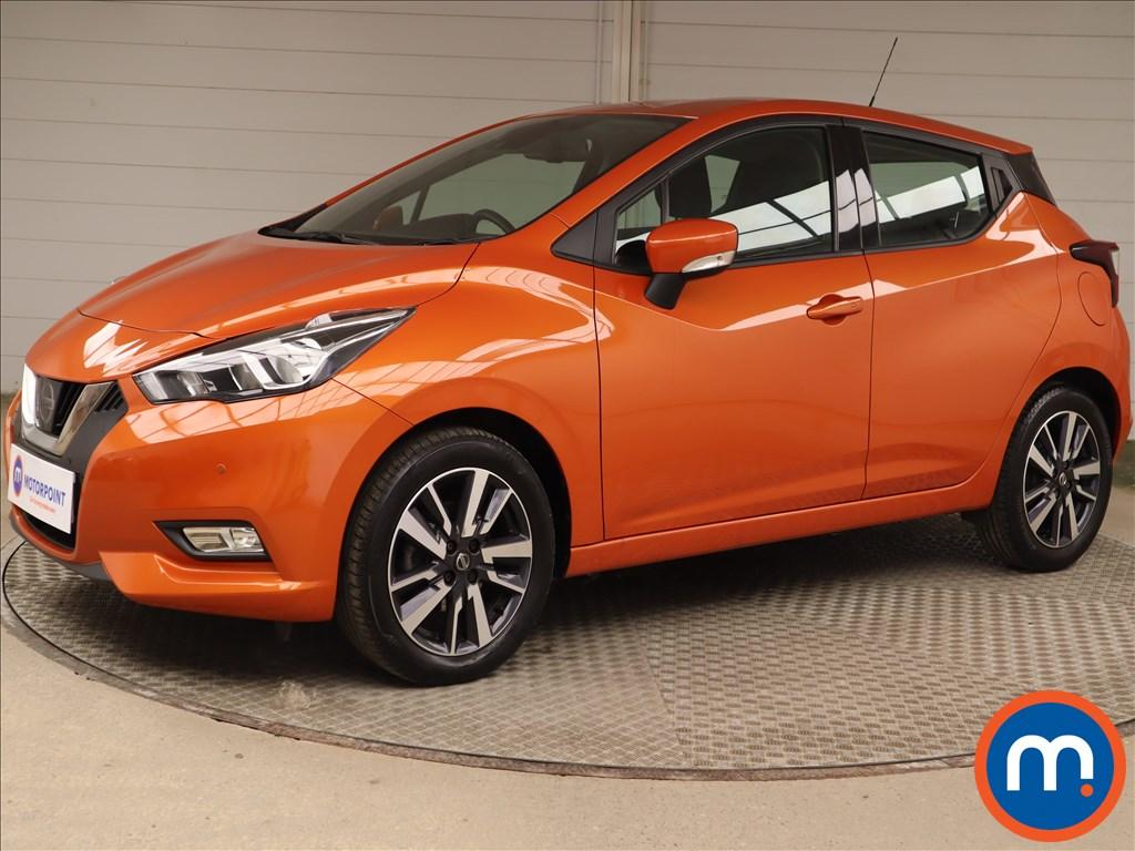 Nissan Micra 1.0 IG 71 Acenta Limited Edition 5dr - Stock Number 1215225 Passenger side front corner