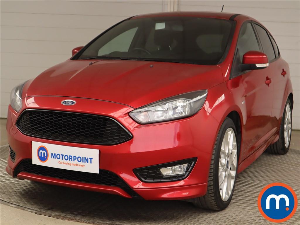 Ford Focus 1.0 EcoBoost 125 ST-Line Navigation 5dr - Stock Number 1214246 Passenger side front corner