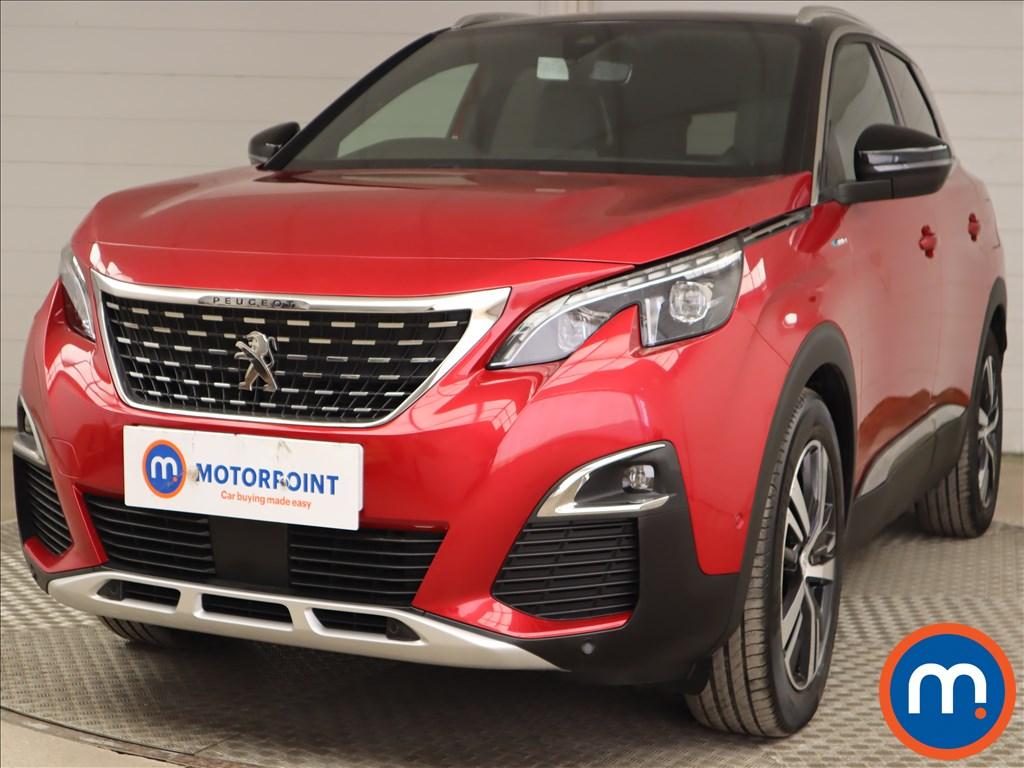 Peugeot 3008 1.6 Hybrid4 300 GT Line 5dr e-EAT8 - Stock Number 1210352 Passenger side front corner