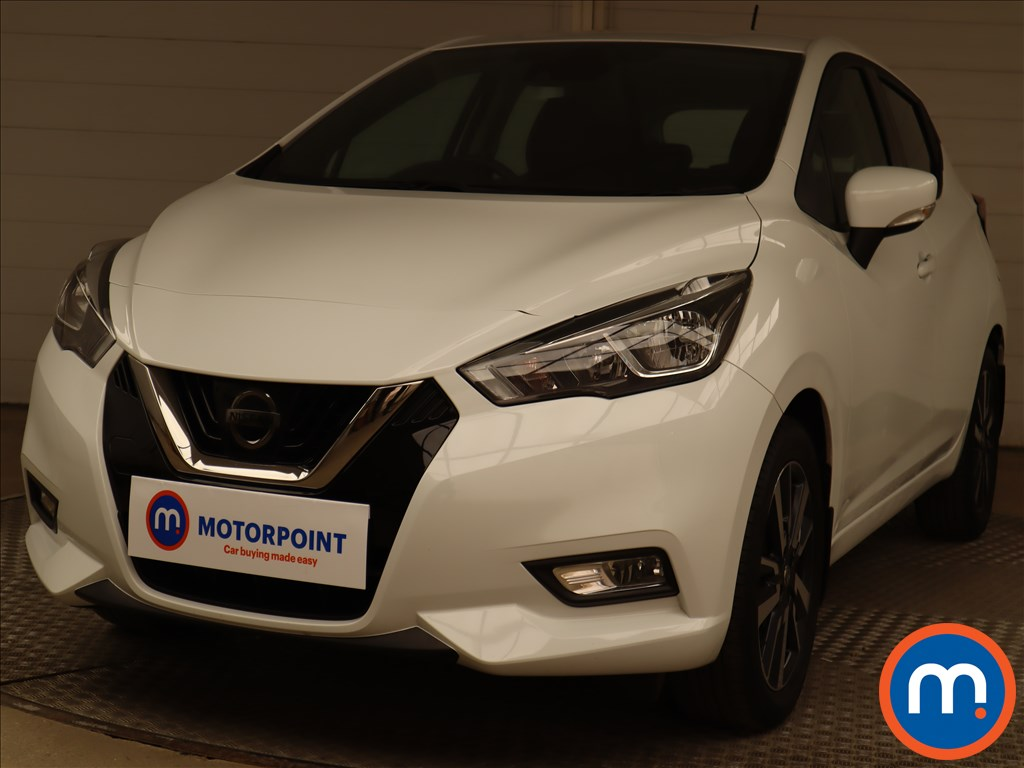 Nissan Micra 1.0 Acenta 5dr - Stock Number 1217293 Passenger side front corner