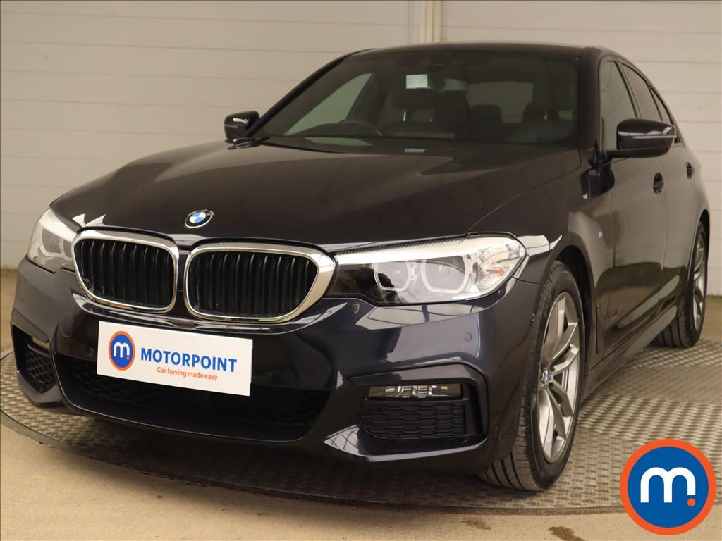 BMW 5 Series 520d M Sport 4dr Auto - Stock Number 1217320 Passenger side front corner
