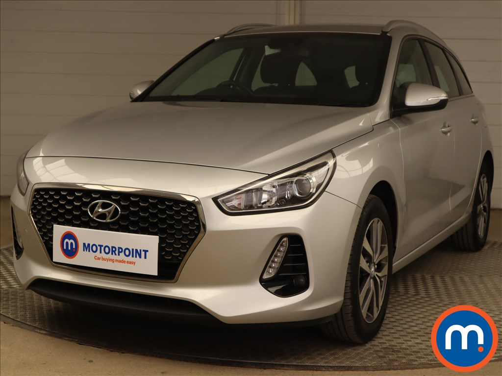 Hyundai I30 1.6 CRDi SE Nav 5dr - Stock Number 1210504 Passenger side front corner