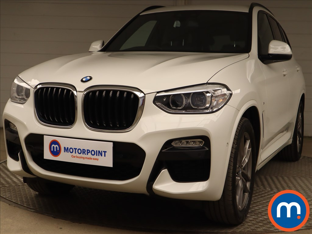 BMW X3 xDrive20d M Sport 5dr Step Auto - Stock Number 1217246 Passenger side front corner