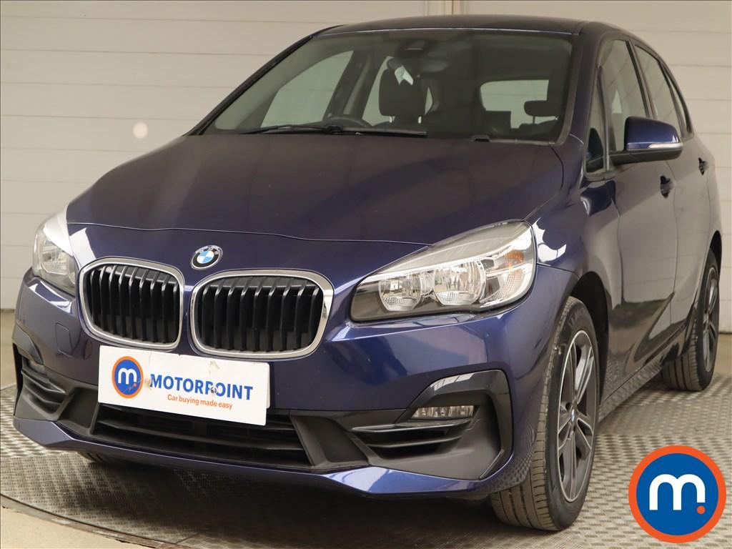 BMW 2 Series 218i Sport 5dr [Nav] - Stock Number 1213467 Passenger side front corner