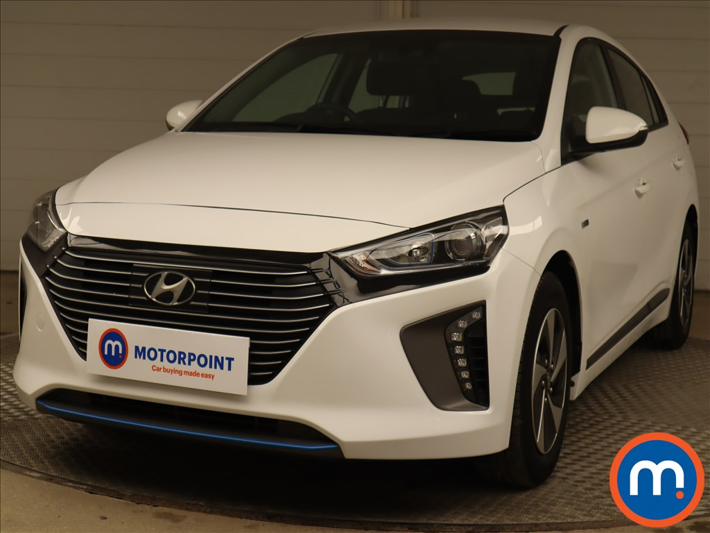 Hyundai Ioniq 1.6 GDi Hybrid SE 5dr DCT - Stock Number 1202077 Passenger side front corner